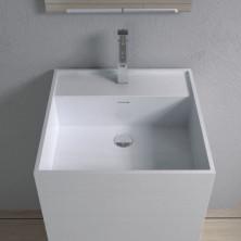 Раковина напольная NS bath из искусственного камня, мат./глянец, NSF-48480
