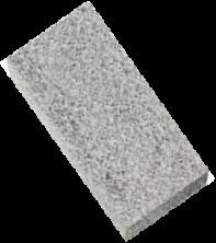Брусчатка гранитная Лисья Горка 100*200*60 мм (полнопиленная, верх термо)