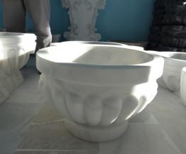 Курна мраморная круглая для бани