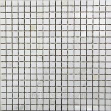 Мозаика каменная Bonaparte (Бонапарт) Winter 30,5x30,5. Белый