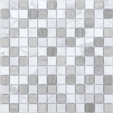 Мозаика из натурального камня Caramelle Pietra Mix 2 MAT 23x23x4, шт.