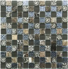 Мозаика NS-mosaic стекло (298х298), S-835