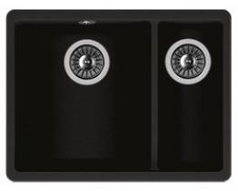 Мойка кухонная Florentina встраиваемая, литой мрамор, Вега 335/160 Антрацит
