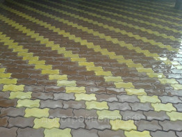 Укладка тротуарной плитки в Кубинке