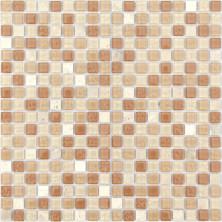 Мозаика из стекла и натурального камня Olbia 15x15x4, шт.