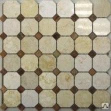 Мозаика из натурального камня Dublin