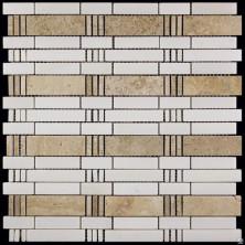 Мозаика из натурального камня Серия S-Line KB-CO2 (KB10-C02)