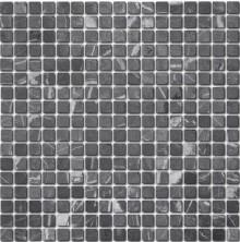 Мозаика из натурального камня Caramelle Nero marquina MAT 15x15x7 (18), шт