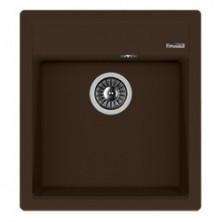 Мойка кухонная Florentina накладная, литой мрамор, Липси-460 Мокко
