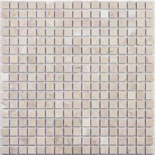Мозаика из натурального камня Caramelle Cappuccino beige POL 15x15x7 (1)