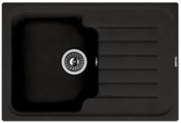 Мойка кухонная Florentina накладная, литой мрамор, ТАИС-760 Черный