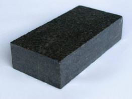 Брусчатка гранитная Габбро-диабаз 100*200*50 мм (полнопиленная, верх термо) от 300 м2