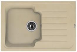 Мойка кухонная Florentina накладная, литой мрамор, ТАИС-760 Бежевый