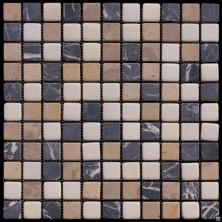 Мозаика из натурального камня Серия Mix MT-01-25T (MT-01)