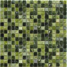 Мозаика каменная Бонапарт (Bonaparte) Sydney-15 30,5x30,5 7 мм Зелёный