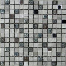 Мозаика каменная Bonaparte (Бонапарт) Milan-2 30,5x30,5. Бежевый