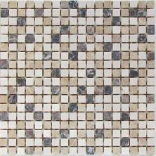 Мозаика каменная Бонапарт Bonaparte Turin-15 slim Matt 30,5x30,5 см 4 мм Белый