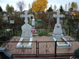 Памятник мраморный крест