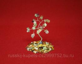Дерево счастья с флюоритом малое