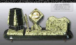 """Sv23-00119 Письменный прибор """"Юлия"""" с ручкой 330*155*160мм"""