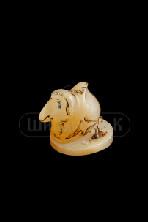 """Sv44-00322 Фигурка """"Верблюд"""" из селенита 50*75*55 мм"""