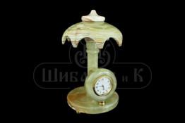 "Sv36-00225 Часы оникс ""Зонт фигурный"" d-100, h-180 мм"