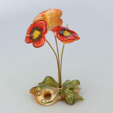 Цветы из селенита
