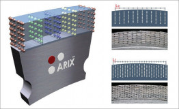 Сегмент алмазный кольцевой ARIX (10х2,5х10) для коронок 10мм по бетону