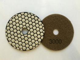 """Алмазные гибкие диски Ø 100 """"Соты"""" сухие (7 номеров) №3000"""