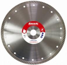 Алмазный диск по камню серии TH Премиум, размер сегмента 2,2 х 8 мм; Ø=125 мм (с фланцем)