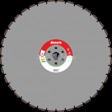 Алмазный диск для стенорезных машин WSF 300 (40x4,5x10 36 сегментов) от 20 кВт, Ø=800 мм.