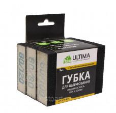 Губка для шлифовальная ULTIMA, 125 * 100 * 10 мм,мягкая, P 6080, P 60100, P 80120, 118015