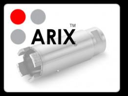 Восстановление алмазной коронки ARIX D28 mm напайкой сегментов