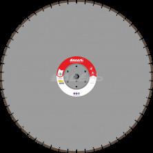 Алмазный диск для стенорезных машин WSF 100 (50x4,5x12 54 сегмента) от 20 кВт, Ø=1200мм.