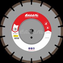 Алмазный диск универсальный AF 710 (40x3,2x10 мм. 18 сегментов) Ø=300 мм, до 10 кВт