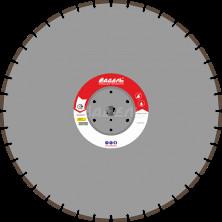 Алмазный диск для стенорезных машин WSF 510 (40x4,5x10 40 сегментов) до 25 кВт, Ø=700 мм.