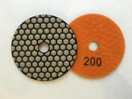 """Алмазные гибкие диски Ø 100 """"Соты"""" сухие (7 номеров) №200"""