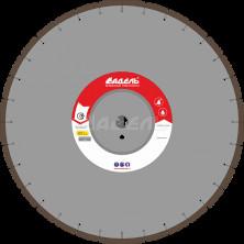 Алмазный диск для стенорезных машин WSF 510 (40x4,5x10 32 сегмента) до 25 кВт, Ø=450 мм.