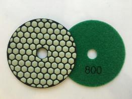 """Алмазные гибкие диски Ø 100 """"Соты"""" сухие (7 номеров) №800"""