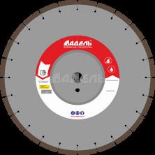 Алмазный диск универсальный AF 710 (40x3,2x10 мм. 24 сегмента) Ø=350 мм, до 10 кВт
