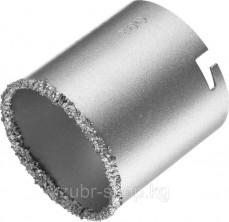 Коронка KRAFTOOL кольцевая с напылением из карбида вольфрама, 67мм, ( 33401-67_z01 )