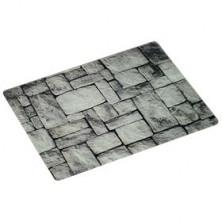 Доска разделочная 'Камни' 40x30x0.4 см, стекло