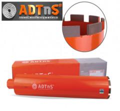 Восстановление алмазной коронки ADTnS D132 мм напайкой сегментов