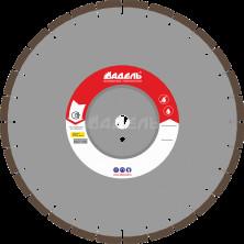 Алмазный диск для стенорезных машин WSF 700 (40x4,5x10 28 сегментов) до 10 кВт, Ø=600 мм.