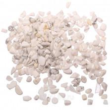 Каменная крошка без отверстий, кахолонг, 2-8мм, 20 грамм