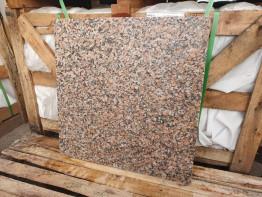 Гранитная плитка Мапл Рэд. 600х600х20 термообработка