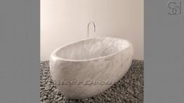 Мраморная ванна Ronda Standart из натурального камня мрамора Bianco Carrara