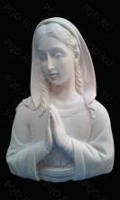 Дева молящаяся на памятник