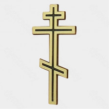 Бронза на могилу Крест