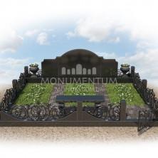 Гранитная ограда для мест захоронения